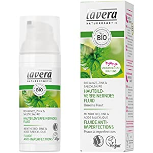 lavera Fluide Anti-Imperfections – Vegan – Cosmétiques naturels – Ingrédients végétaux bio – 100% naturel 50 ml