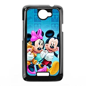 Disney Mickey Mouse Minnie Mouse HTC One X Cell Phone Case Black Gift pjz003_3163201