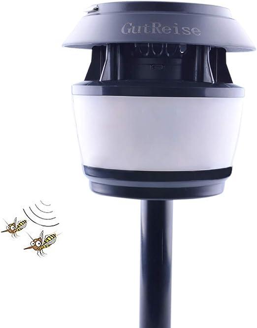 GutReise Repelente de insectos ultrasónico portátil luz de calle ...