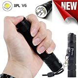 1200 Lumens Flashlight LED Aluminum Alloy Baomabao COURUI XP-L HI V3 Waterproof Pocket Torch