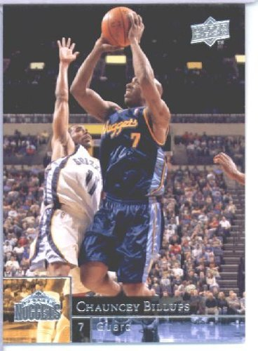 2009 /10 Upper Deck Basketball Card # 41 Chauncey Billups Nuggets Mint Condition - Shipped in Protective ScrewDown Display Case! (Condition Nuggets Mint)