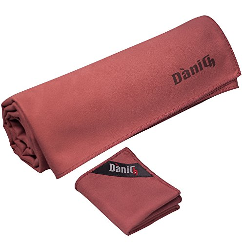 Microfiber towel per Workout Indoor Outdoor Yoga Gym Camping Travel Sports Set Beach Swimming Surf-Absorbent Antibacterial Multipurpose Compact-Travel accessories-small hand towel in mesh bag - XL