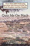 Quiz Me on Nach, Moshe Avital, 9657344557