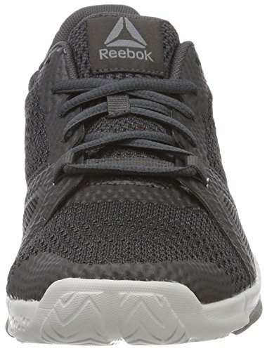 Fitness Femme skull black Reebok 000 coal Grey Noir Flexile Chaussures De alloy RtgBCw
