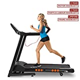 JLL T350 Digital Folding Treadmill, 2019 New Generation Digital Control 4.5HP Motor, 20 Incline Levels,0.3km/h to 18km/h, 20 Programmes, Bluetooth & Speakers, 2-Year Parts&Labour,5-Year Motor Cover
