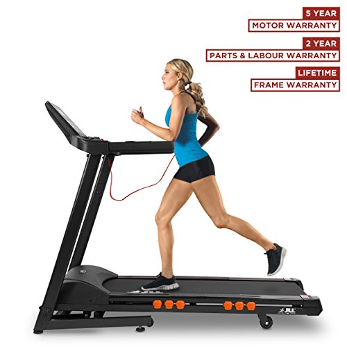 JLL T350 Digital Folding Treadmill, 2018 New Generation Digital 4.5HP...