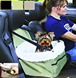 Pet Booster Car Seat Carrier (Green)