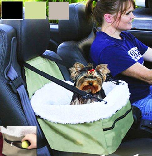 Pet Booster Car Seat Carrier (Green)