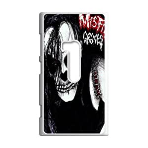Classic Band&The Misfits Theme Case Cover for Nokia Lumia 920- Personalized Hard Cell Phone Back Protective Case Shell-Perfect as gift