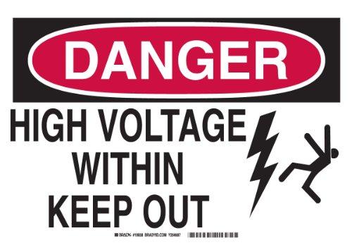 Brady 19932 Aluminum Danger Voltage