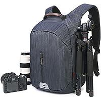 Beaspire Professional Waterproof Camera Bag Large Capacity Travel backpack (Dark Blue)