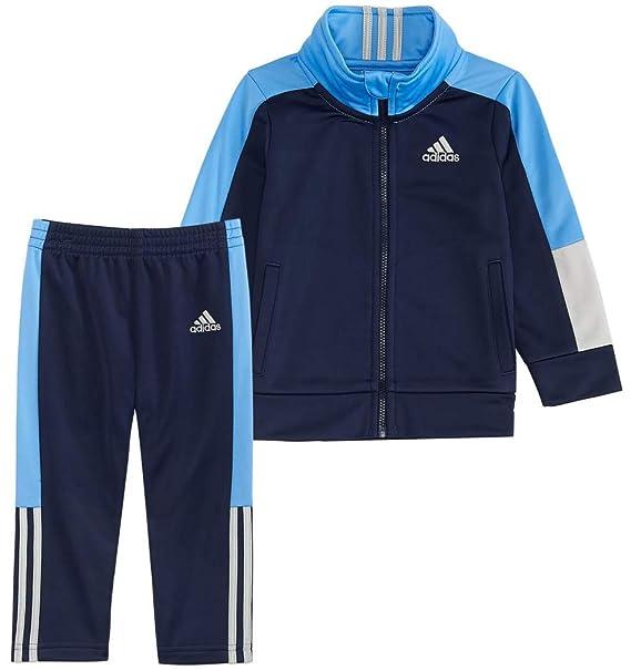 c108e19de Amazon.com: adidas Boys' Tricot Jacket and Pant Set: Clothing