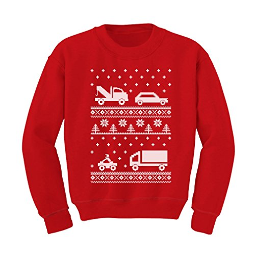Cars Ugly Christmas Sweater Kids Sweatshirt