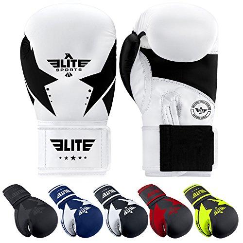 Elite Sports Star Boxing, Kickboxing, Muay Thai Gel Sparring Training Gloves ()