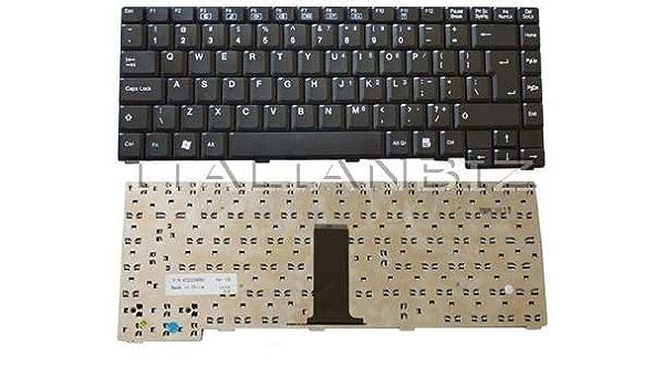 Teclado Nera Americana para Notebook Olivetti P1500 ...