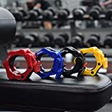 """Iron Lab Olympic Barbell Collars Pair of 2"""" Inch"""