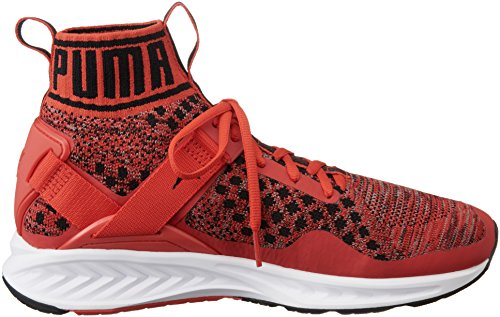 Puma Ignite Evoknit, Zapatillas de Running Unisex Adulto Rojo (High Risk Red-quiet Shade-puma Black 02)