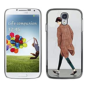 Dragon Case - FOR Samsung Galaxy S4 - I don't ask - Caja protectora de pl??stico duro de la cubierta Dise?¡Ào Slim Fit