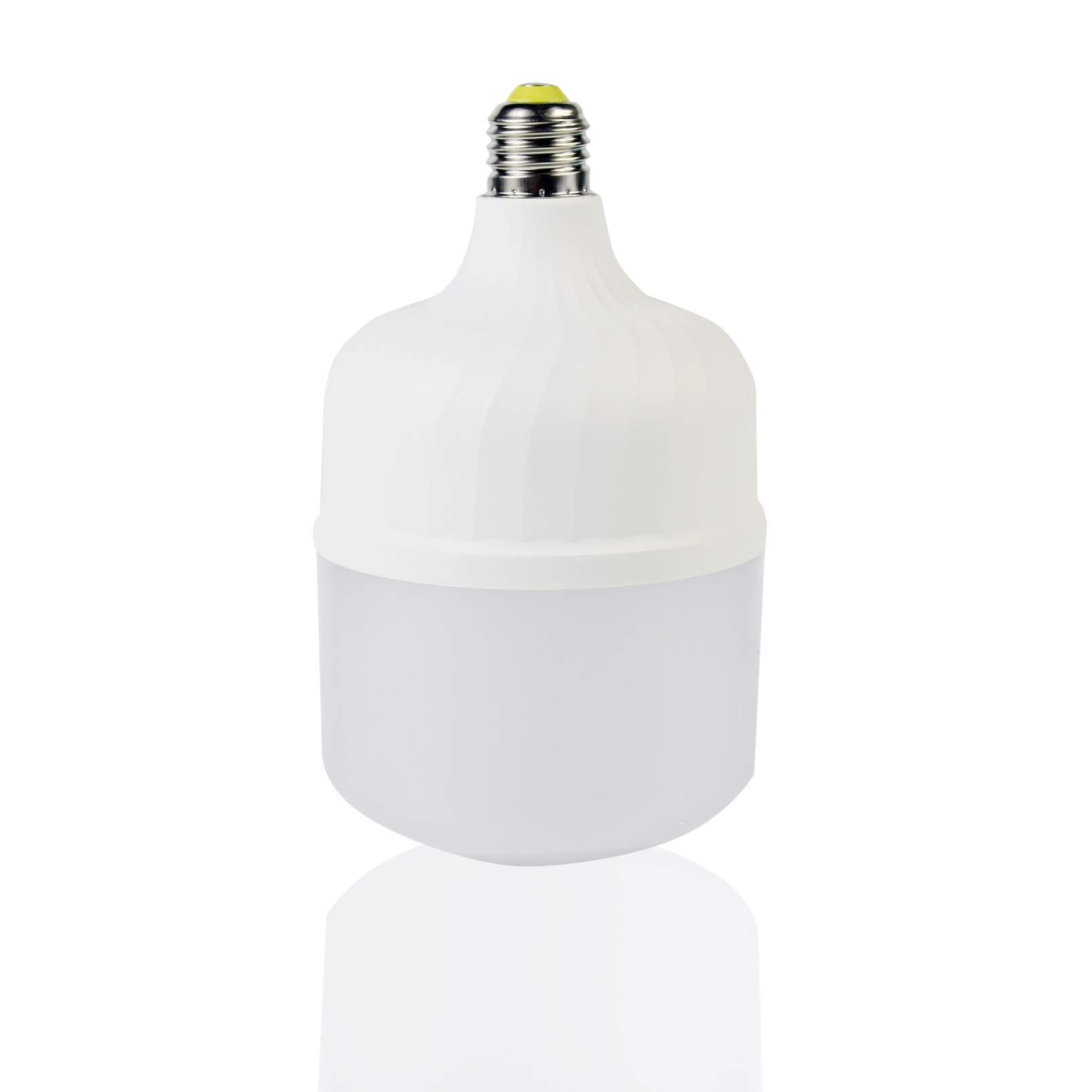 20W High Watt LED Bulbs 140W-160W Equivalent, LED Light Soft White 6500K High Intensity Shop Light with Free E27 Converter, 2200 Lumens LED Commercial for Yard Garage Warehouse Workshop