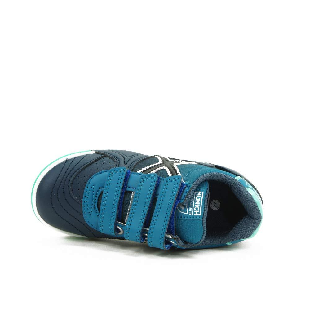 Zapatillas de f/útbol Sala G-3 Kid Indoor Velcro Marino 1514018