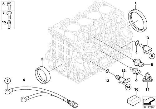 BMW Genuine Engine Cylinder Head Mount Fillister Head Screw M6 x 16 31422310687