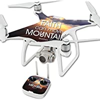 Skin For DJI Phantom 4 Quadcopter Drone – Move Mountains | MightySkins Protective, Durable, and Unique Vinyl Decal wrap cover | Easy To Apply, Remove, and Change Styles | Made in the USA