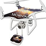 MightySkins Skin for DJI Phantom 4 Quadcopter Drone – Move Mountains | Protective, Durable, and Unique Vinyl Decal wrap Cover | Easy to Apply, Remove, and Change Styles | Made in The USA For Sale