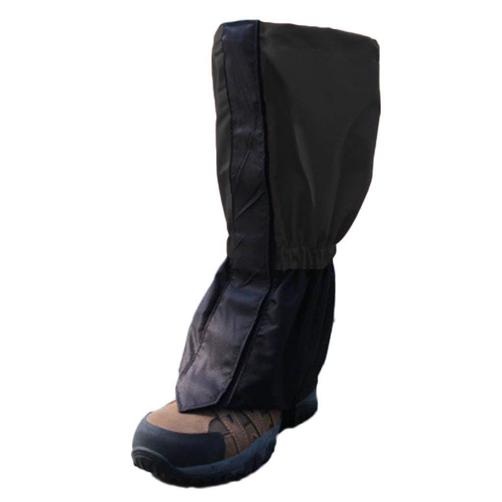 Aofocy 1 paire de cuissardes de randonnée, guêtres de bottes de neige, protège-jambes de randonnée imperméable et respirant, pour la recherche en plein air, escalade de pêche de chasse, coupe de gazon