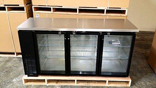 3 glass door cooler - 3