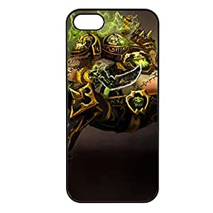 Urgot-002 League of Legends LoL cover for Apple iPhone 5/5S Cover - Plastic Black