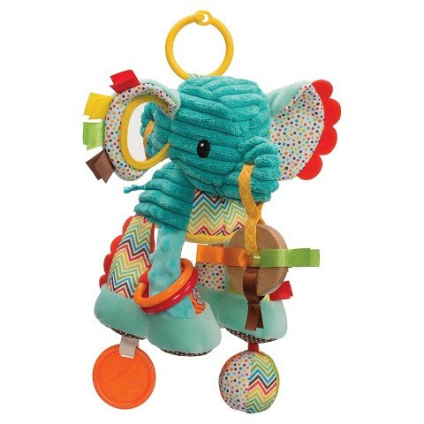 Infantino Go GaGa Playtime Pal - Elephant (Pals Playtime)