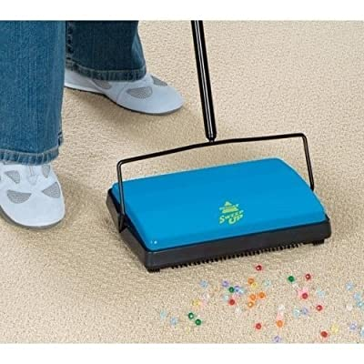 Bissell Sweep-up Sweeper Pets Carpet Floors Cordless * Perfect for Cat Litter by Carpet Sweepers