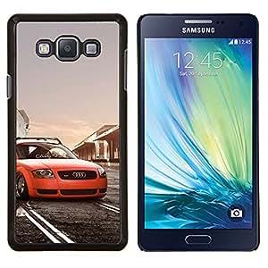 "Be-Star Único Patrón Plástico Duro Fundas Cover Cubre Hard Case Cover Para Samsung Galaxy A7 / SM-A700 ( Postura Low Rider Tt Car"" )"
