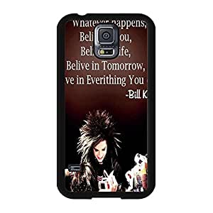Confient Custom Quotes Tokio Hotel Phone Case Cover for Samsung Galaxy S5 I9600
