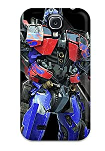 New Style AmyAMorales Hard Case Cover For Galaxy S4- Optimus Prime