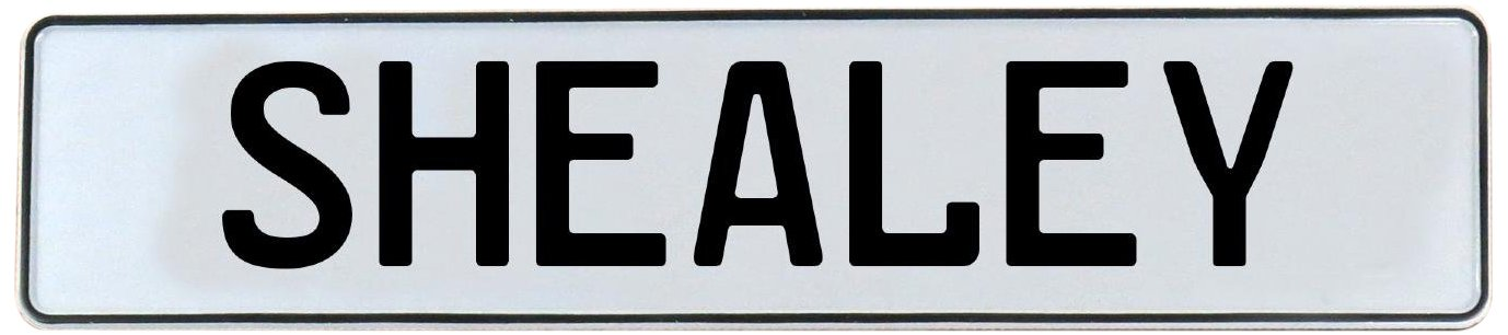 Shealey Vintage Parts 751437 White Stamped Aluminum Street Sign Mancave Wall Art