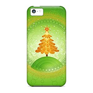 BLP246meRK AmacaAcc Beautiful Christmas Tree Design Feeling Iphone 5c On Your Style Birthday Gift Cover Case