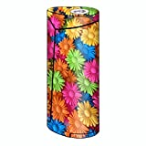 wax for e cig - Skin Decal Vinyl Wrap for Smok Priv V8 60w Vape stickers skins cover/ Colorful Wax Daisies Flowers