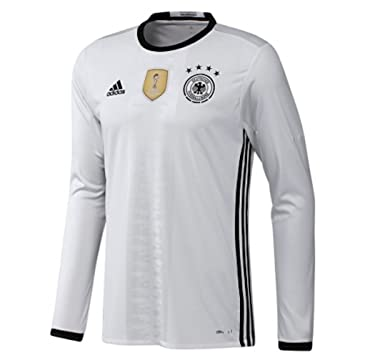 Adidas Germany Home Long Sleeve Jersey [WHITE/BLACK] (XS)