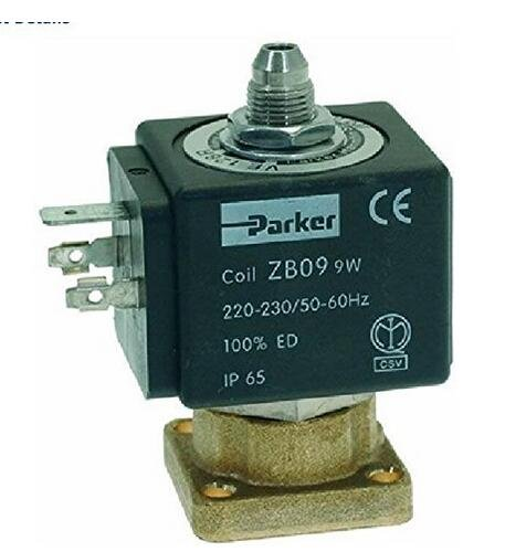 3-way Solenoid Valve Parker 230v 50/60hz