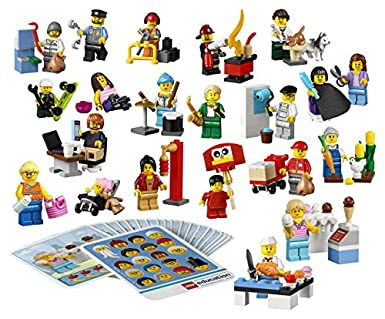 Amazon.com: Community Minifigure Set for Role Play by LEGO Education ...