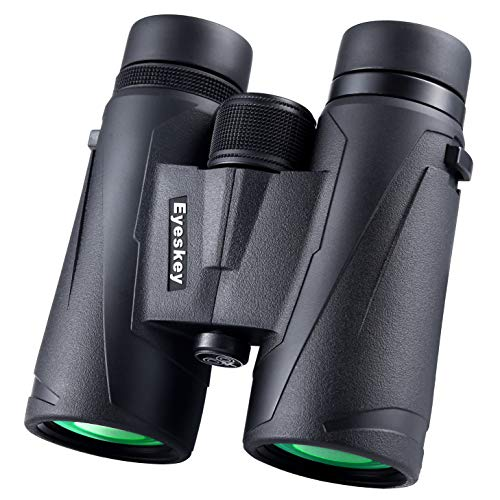Eyeskey 10x42 Professional Waterproof Binoculars, Best Choice for Travelling, Hunting, Sports Games and Outdoor Activities, Extremely Clear and Bright