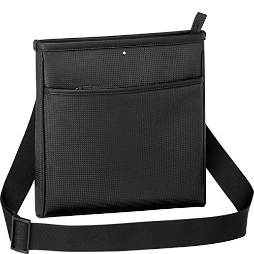 Montblanc Extreme Envelope Bag Umhängetasche, 26 cm, Schwarz