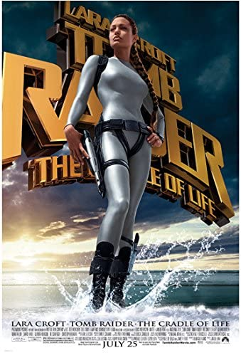 Lara Croft Tomb Raider The Cradle Of Life 8 Inch X 10 Inch Photo