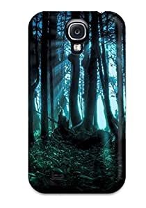 Fashion Protective Dark Forest Case Cover For Galaxy S4