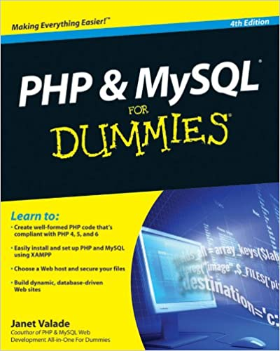 Php And Mysql For Dynamic Websites 4th Edition Pdf