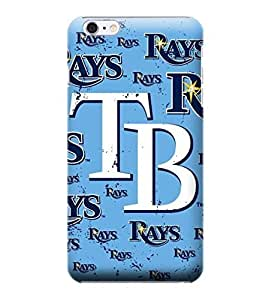 iPhone 6 Cases, MLB - Tampa Bay Rays - Cap Logo Blast - iPhone 6 Cases - High Quality PC Case