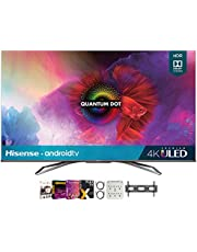 $739 » Hisense 55H9G 55-inch H9G Quantum 4K ULED Smart TV (2020) Bundle with Premiere Movies Streaming 2020 + 30-70 Inch TV Wall Mount + 2X HDMI Cable + 6-Outlet Surge Adapter