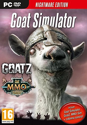 Goat Simulator - Nightmare edition (PC DVD)