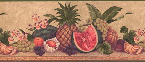 果物壁紙ボーダー0567AW